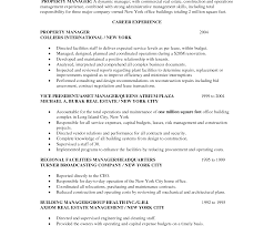 Great Resume For Assistant Property Manager Position Pictures