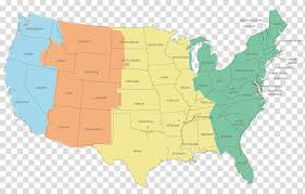 United States Pacific Time Zone World Map United States