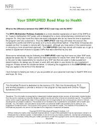 Dr Amys Simplified Road Map To Health Pon22m0e1jn0