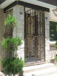 front door gate17 best Gate images on Pinterest  Doors Windows and Wrought iron