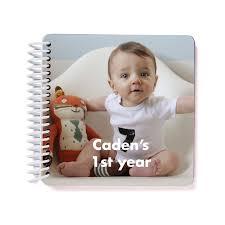 Babys First Year Photo Board Book