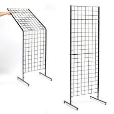 patented folding grid display in