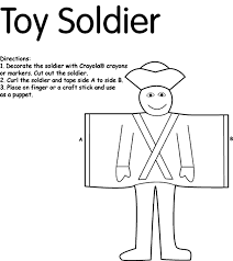 Toy Soldier Crayolacouk