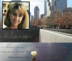 Honoring Madeline Amy Sweeney, Flight Attendant Who Kept Her Calm |  National September 11 Memorial & Museum