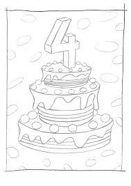 Populair Verjaardagstaart 4 Jaar Hlq14 Agneswamu
