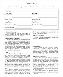 House Rental Agreement Templates Free Sample Example Format Vacation ...
