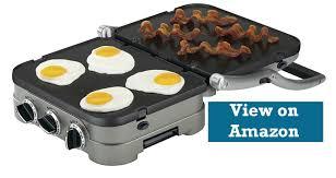 4 cuisinart gr 4namz 5 in 1 electric griddler great value for money