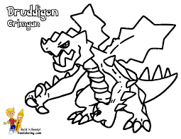 Powerhouse Pokemon Coloring Pages To Print Yescoloring Free