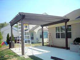 building an awning over a patio how to build a pergola over a patio for the