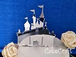 Acrylic Disney Princess Castle Birthdaywedding Cake Topper