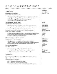 comment - Coffee Shop Resume Sample