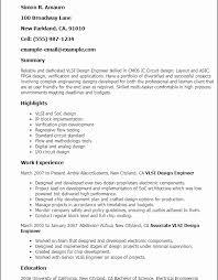 Circuit Design Engineer Sample Resume Mesmerizing Ic Design Engineer Sample Resume Inspirational Ic Design Engineer