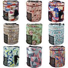 2019 New 12 <b>Style</b> Portable Home Large <b>Yarn Storage</b> Bag Crochet ...
