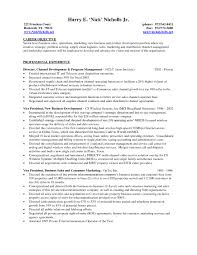 Management Resume Objective Outathyme Com