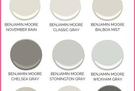 Beautiful Gray Paint Colors For Your Home (best Benjamin Moore