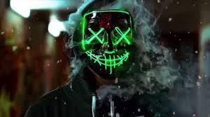 Halloween Led Light Up Purge Mask Led Purge Mask