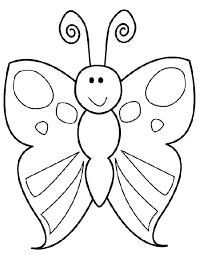 Kleurplaat Vlinder Vlinders En Bloemen Zomer Kleurplaten