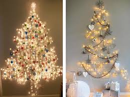 unconventional tree ideas contemporary holiday theme