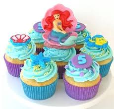 Little Mermaid Cupcake Cake Medianet