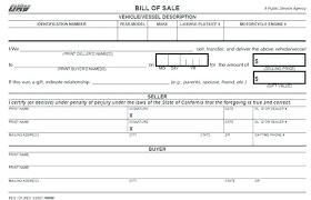 Car Sale Bill Of Sale Template Car Bill Of Sale Template