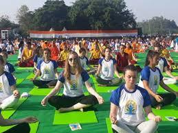 many yoga buffs from abroad pare at fri pound breaking uttarakhand news dehradun news uttarakhand news live state government news