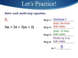 let s practice solve each multi step equation 3