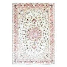 wool oriental rugs hand knotted extra fine pink rug with silk flowers from india belgium cleaning wool oriental rugs