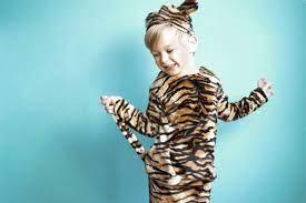 Hier seht ihr 4 super süße und einfach gemachte kostüme für kinder, die ihr günstig und schnell aus alten klamotten selber machen könnt. Nahanleitung Und Schnittmuster Kinderkostum Tiger Kinder Kostume Kinder Kostum Tigerkostum