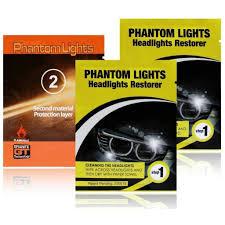 Phantom Lights Car Headlights Cleaner Phantom Lights Restoration Kit Cleans