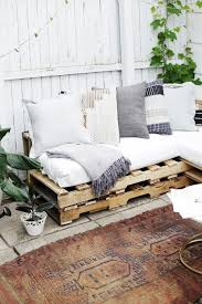 using pallets for furniture. This Article Will Show You The Steps, Materials And Tools Need To Create An L-shaped Couch Using Pallet Wood How Make No Sew Cushions. Pallets For Furniture O