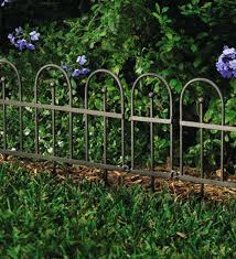 metal garden fencing northern ireland gorgeous design border fence nice ideas style sumptuous charming edging designs
