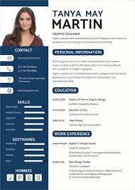 Graphic Resume Templates Simple Graphic Designer Resume Template 28 Free Word PDF Format
