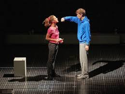 the curious incident of the dog in the night time theatre in london the curious incident of the dog in the night time