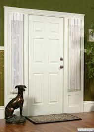 Front Door Window Coverings Curtain Inspiring Sidelight Curtains For Window Covering Idea
