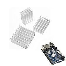 <b>5X Adhesive Aluminum</b> Heatsink Cooling Kit for Orange Pi: Amazon ...