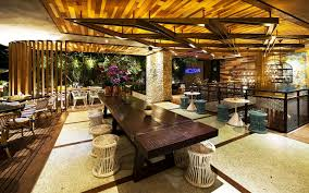tropical design furniture. Lemongrass Restaurant Has A Modern Tropical Architecture (24) Design Furniture