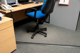 office cable covers. Floor Cable Cover Application, After Office Covers I