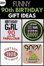 funny 90th birthday gift ideas collage picture