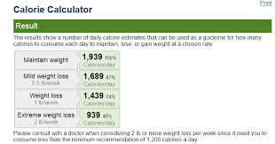 Daily Calorie Chart For Weight Loss Correct Way To Lose 2 To 4 Pounds Per Week Vestellite