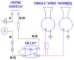 car horn wiring diagram wiring diagram schematics baudetails info installing aftermarket horns particular questions car horn wiring diagram