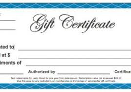 Plain Gift Certificate Template Free Business Gift Certificate Template With Logo 18 Gift