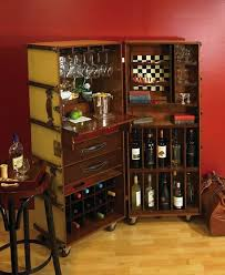bar trunk furniture. Turn An Antique Steamer Trunk Into A Bar - @Mary Wakefield This Would Be  Good For Downsizing! Furniture T