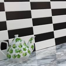 Black And White Kitchen Tiles 20x5 Falkland Matt Black Tile Choice
