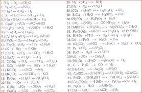 balancing chemical equations worksheet answers balancing equations 621472