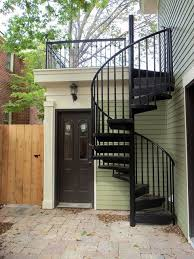 exterior metal spiral staircase prices. thin 12by12by12 cabin exterior stair. not metal though. spiral staircase prices