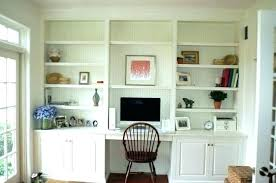 built in desk with floating shelves wall unit and bookcases billy bookshelf bookcase mahogany units la