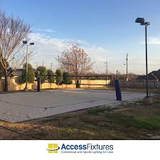led volleyball court lighting avg fc quick ship recreation pictures with amazing standard outdoor volleyball court