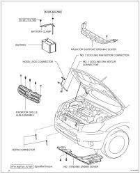 Toyota RAV4 Service Manual: Cooling fan motor - 2Az-fe charging