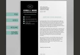 This template is refreshing  and even somewhat relaxing  to look at  Resume and Resume Templates