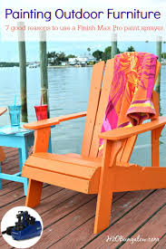 paint outdoor furniture with a paint